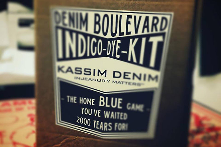 DB x KASSIM DENIM - INDIGO DYE KIT - Denim Boulevard